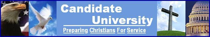 CandidateU ~ Campaign School For Christian Candidates