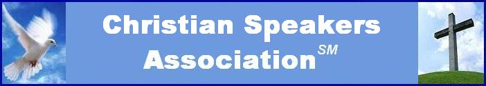 Christian Speakers Association Banner