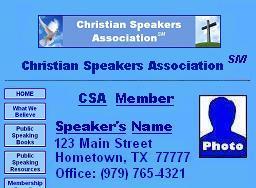 CSA Sample Website